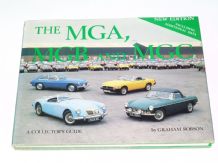 MGA MGB And MGC A Collectors Guide (Robson 1984) New Ed.